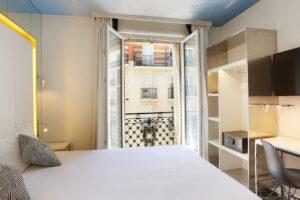 NOUVEL HOTEL EIFFEL PARIS Tour Eiffel Montparnasse Invalides Porte de Versailles DOUBLE ROOM 402 (2)