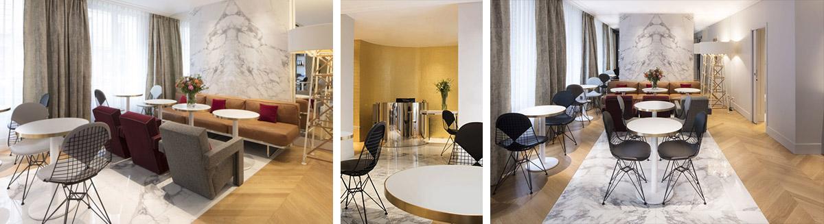 NOUVEL HOTEL EIFFEL Un hôtel de designer à Paris